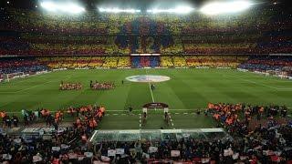 Barcelona: Mosaic FC Barcelona - Real Madrid CF