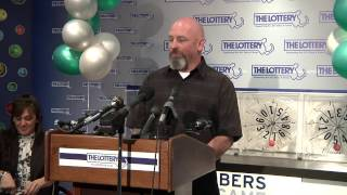 3.20.12 Hanover, Mass. man claims top prize in new Lucky For Life lottery game