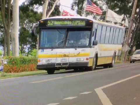 TheBus Honolulu 2000 Gillig Phantom 40' #812 Route 52 Picture
