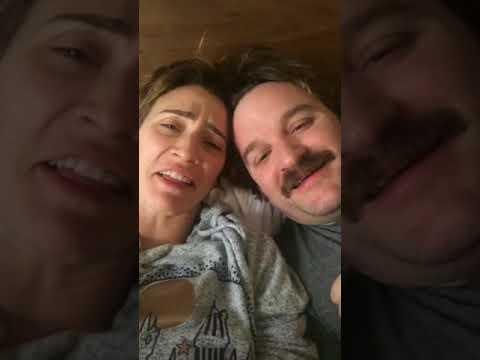 Jessica Harmon and Lenny Jacobson live Instagram stream February 9 2018