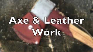 Axe & Cuir - Fabrication d'un Collier et d'un Masque pour ma Hache