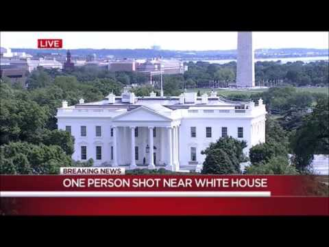 (WRC-TV) Shooting near White House Breaking News (May 20, 2016)