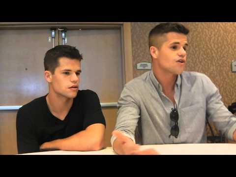 Teen Wolf Comic Con 2013  Max Carver and Charlie Carver