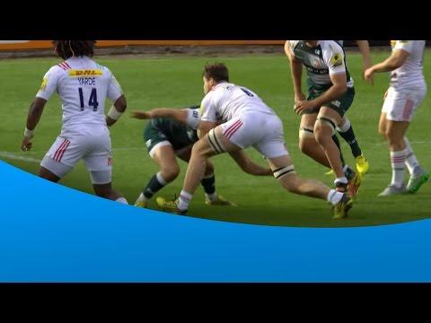 Jack Clifford fends off Owen Williams