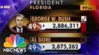 History Flashback: How The 2000 Election Results Were Fought In The Courts | NBC News NOW