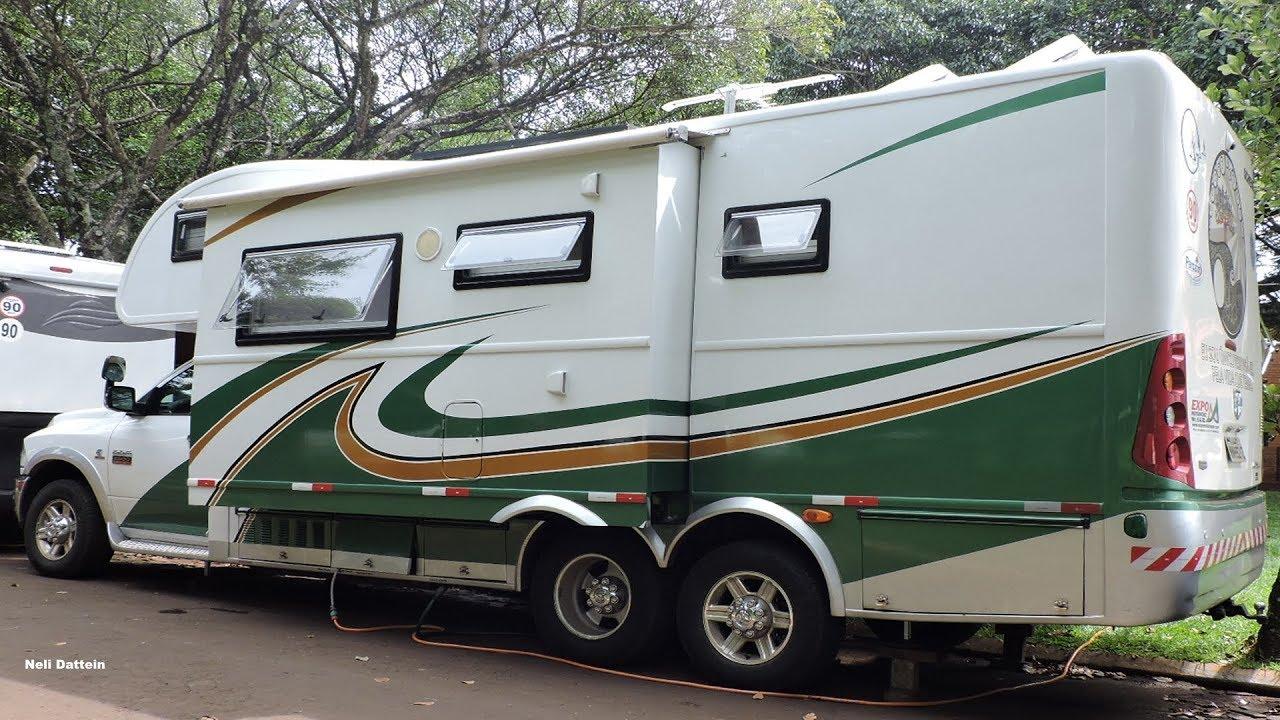 Motorhome Scheid, Montado Em Dodge Ram 2500, Automática, Importada, Trucada  no Brasil