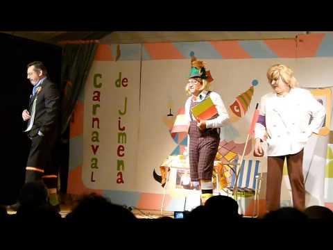 """Cuarteto """"Tres patas pa un banco"""" Carnaval Jimena 2013"""