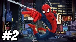 Ultimate Spider-Man Walkthrough   Wolverine Boss Fight   Part 2 (Xbox/PS2/Gamecube/PC)