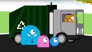 Твой друг Бобби - Переработка мусора - мультфильмы детям - серия 27