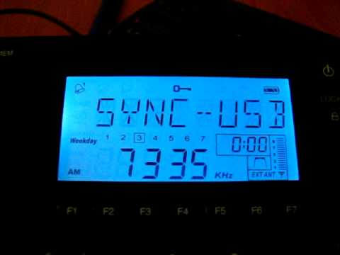 SW: China National Radio 2 7335 kHz Baoji, China 2012-03-20