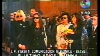 Ayrton Senna Funeral en vivo Centro Montecarlo de Noticias