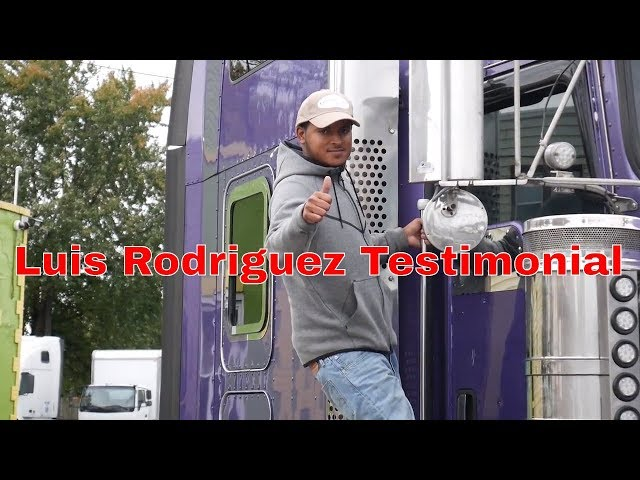 Luis got his CDL with Driving Academy - Student Testimonial