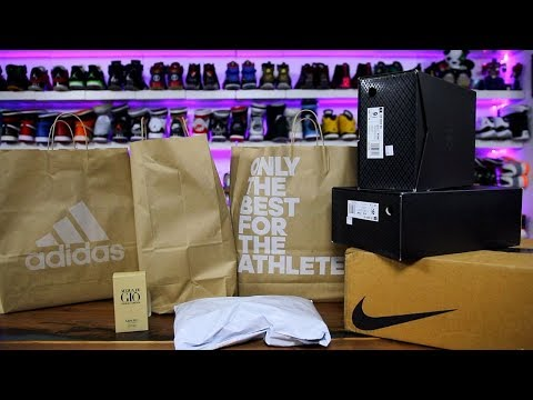 $2500 SNEAKER HAUL FROM ADIDAS EMPLOYEE STORE + MORE!