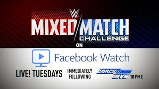 WWE to present Mixed Match Challenge, Tuesdays exclusively on Facebook Watch