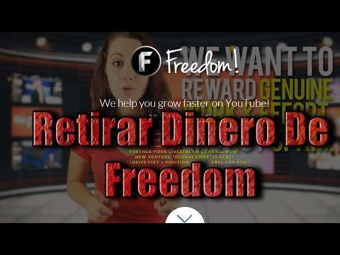Como Empezar a Recibir Dinero de Freedom