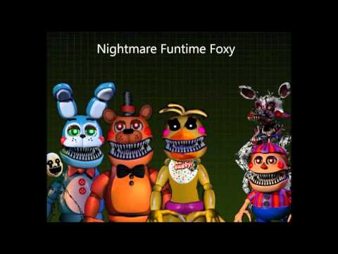 FNAF SONG II Nightmare Toy Animatronic's Voices II