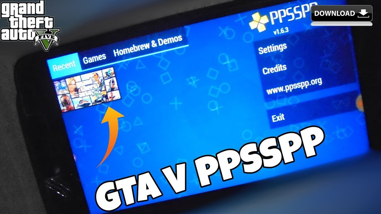 download gta for ppsspp android iso