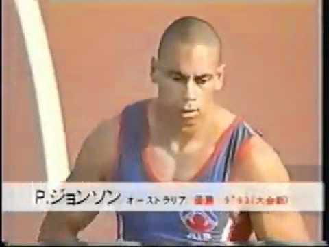 100m Patrick Johnson 9 93 OceaniaAR   Shingo Suetsugu 10 03 PB