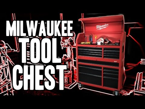 "Milwaukee 46"" Tool Chest / Cabinet Combo - 48-22-8500"