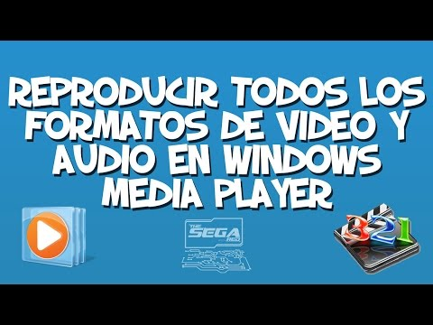 ¡Reproducir Cualquier Formato de Vídeo o Audio en Nuestro Reproductor Windows Media Player!