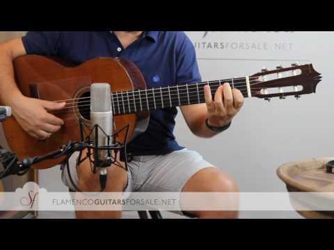 VIDEO TEST:  Hiroshi Tamura 1969 classical guitar for sale