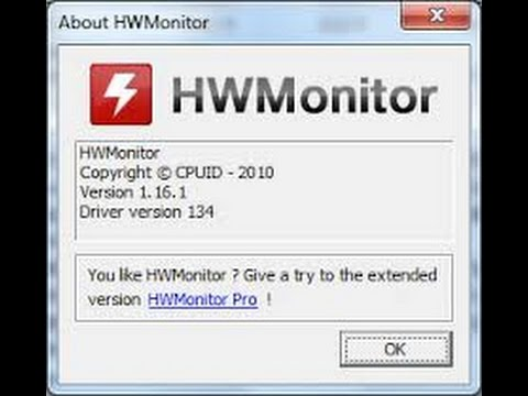 How to monitor your pc temperature using hwmonitor