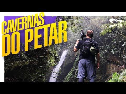 AS INCRÍVEIS CAVERNAS DO PETAR