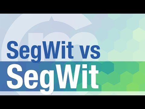 Segwit vs Segwit2X Explicación simple en español