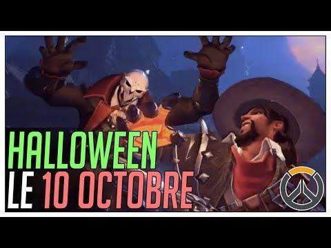 ►HALLOWEEN LE 10 OCTOBRE!!!◄ OVERWATCH FR