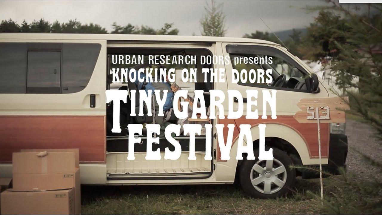 """画像: KNOCKING ON THE DOORS """"TINY GARDEN FESTIVAL""""2014 www.youtube.com"""