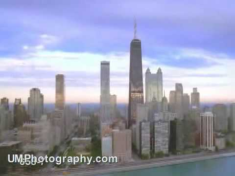 Chicago DownTown view from sky