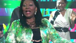 Скачать Boney M Ft Liz Mitchell Brown Girl In The Ring Live ZDF Hitparty 2013 Germany HDTV