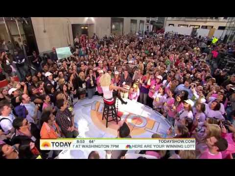 Christina Aguilera - You Lost Me [Live  Today Show] HD