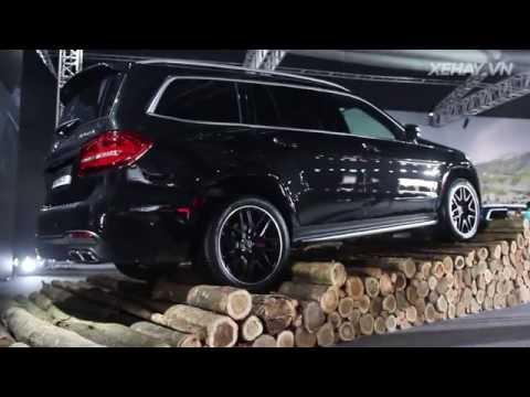 XEHAY.VN Chi tit Mercedes AMG GLS 63 4Matic 2016 mi ra mt th trng Vit Nam