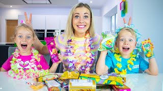 Gaby and Alex try Hawaiian sweets and treats taste test