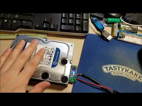 """3.5"""" SATA HDD 12V USB Adapter Mod"""
