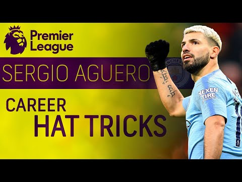 Sergio Aguero's 10 career hat-tricks for Manchester City | Premier League | NBC Sports