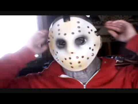 Unboxing A Very Plain Jason Voorhees Hockey Mask
