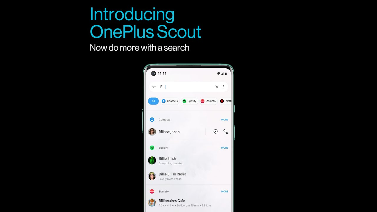 OnePlus Scout - Do more with a search