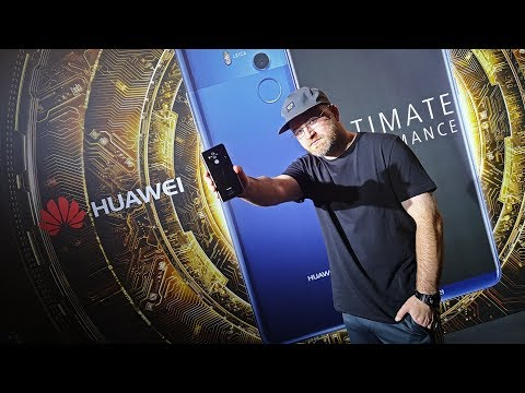 Huawei Mate 10 Live Hands On