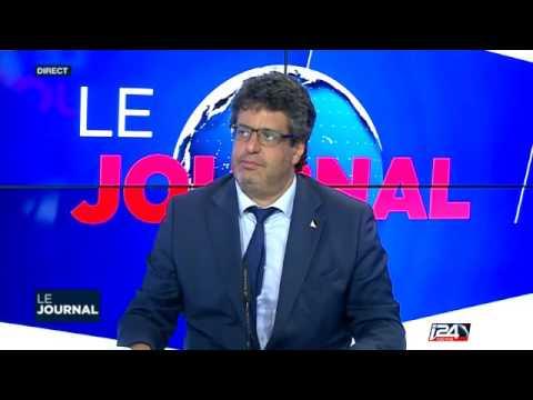 Meyer HABIB invité sur Le Journal du Soir  i 24 news 22052016