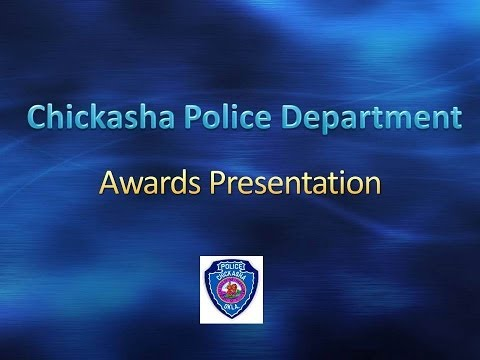 Chickasha Police Department- Life Saving Award presented to Officers