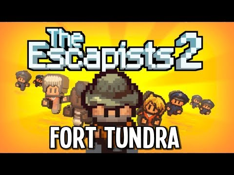 Escaping FORT TUNDRA with the ROCK HAMMER!! - Escapists 2 Gameplay Episode 24