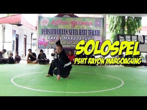Latihan Bersama PSHT Rayon Margoagung - SOLOSPEL