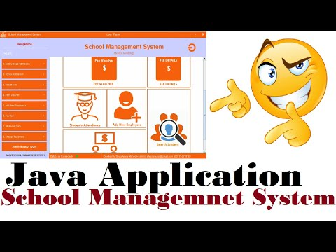 HOW TO MAKE DESKTOP JAVA APPLICATION SUCH AS SCHOOL MANAGEMENT SYSTEM