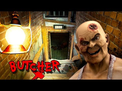 Butcher X - Android/iOS Gameplay ( Scary Horror )