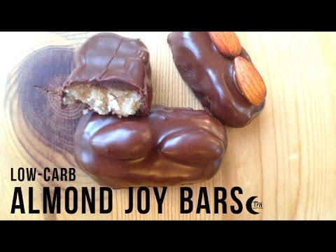 Keto Almond Joy Bars | Low-Carb Mounds Bar + Bounty Bar | Su