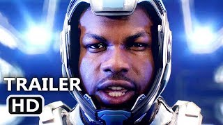 PACIFIC RIM 2 UPRISING Official Trailer (2018) John Boyega, Comic-Con, Sci-Fi Movie HD