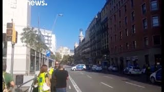 Южноуральские туристы - о теракте в Барселоне