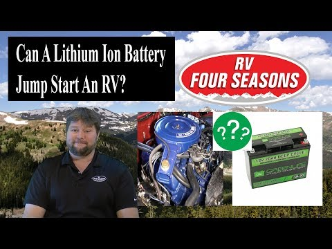 Can A Lithium Ion Battery Start An RV?